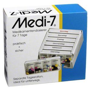 Medi-7 Medikamentendosierer für 7 Tage