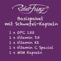 Robert Franz Basispaket mit Schwefelkapseln