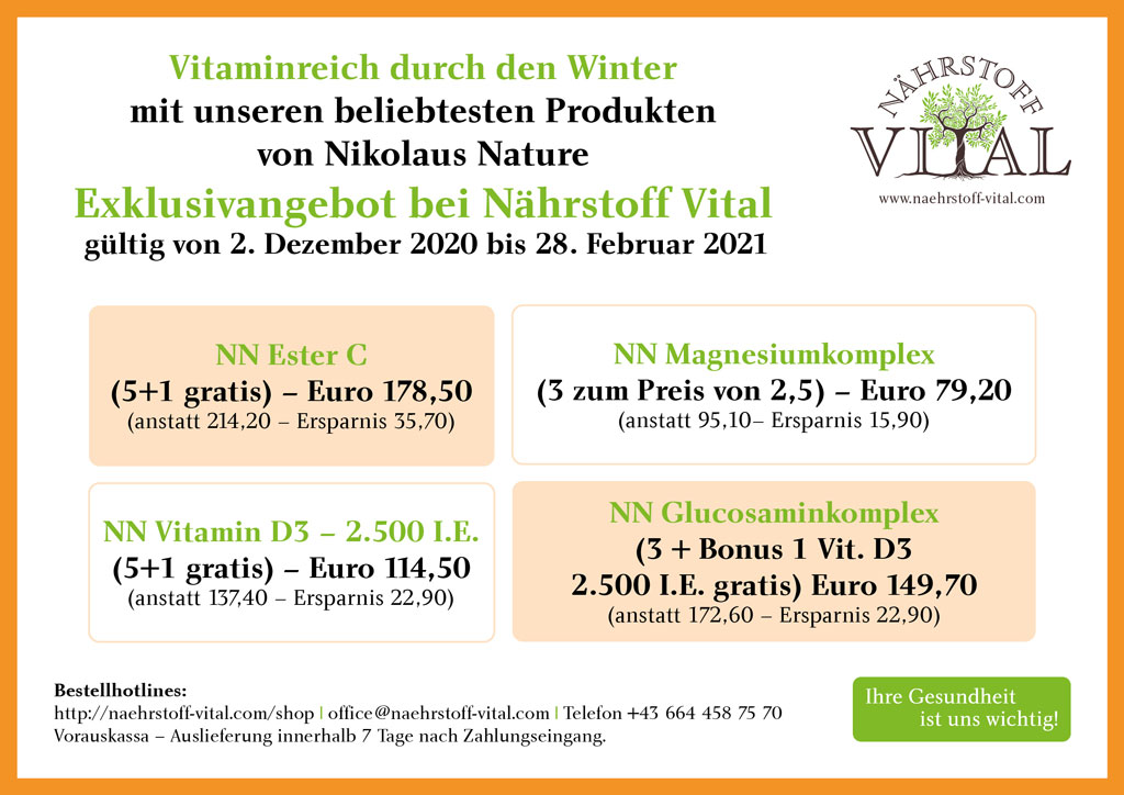 Vitaminreich durch den Winter