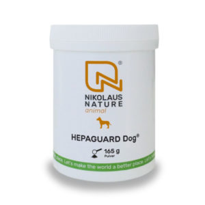 Nährstoff Vital Graz hepaguard dog pulver NN